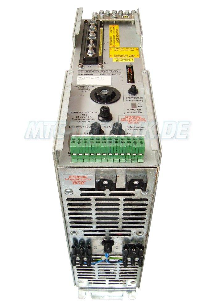 2 Austausch Indramat Tvm2.1-050-220-300-w1