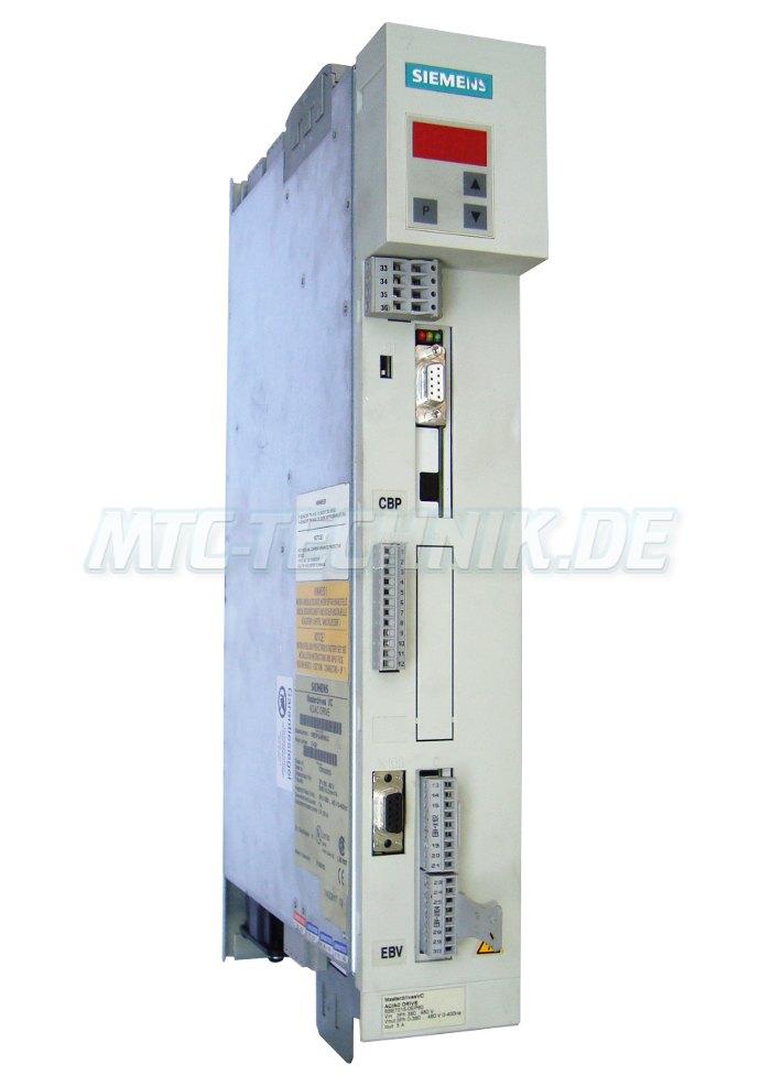 1 Siemens 6se7015-0ep60-z Frequenzumrichter Online-shop