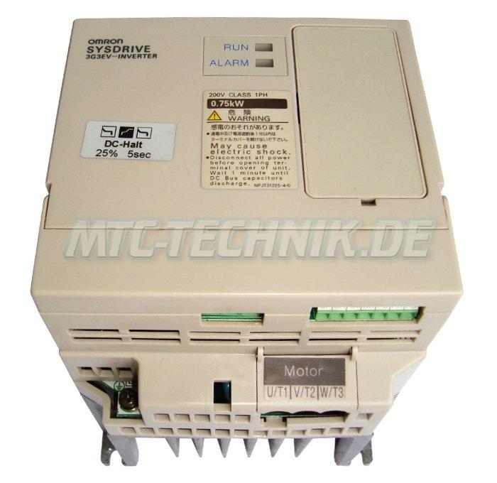 2 Austausch 3g3ev-ab007-cer1 Omron Inverter