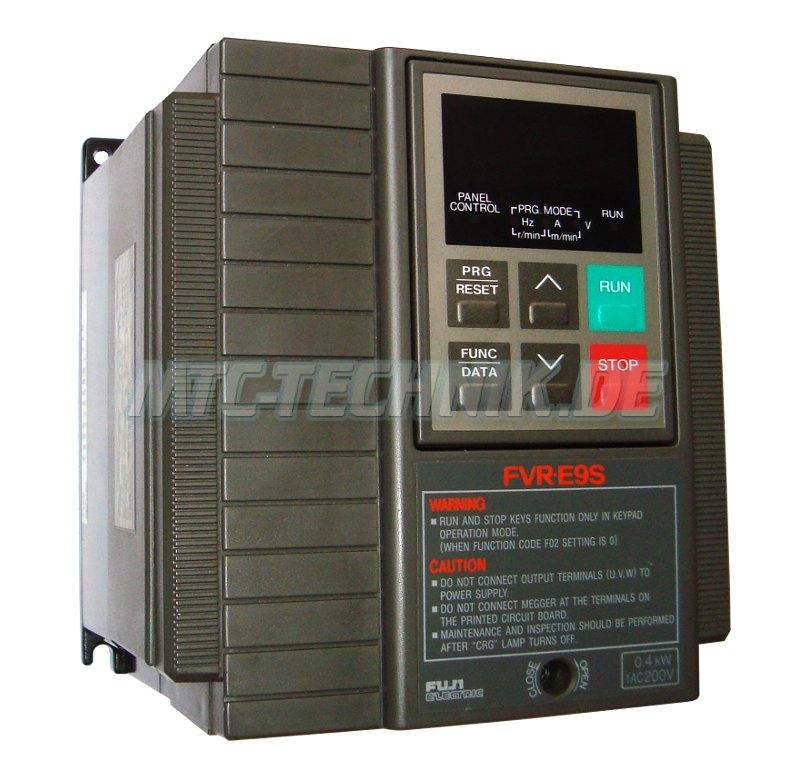 1 Fuji Electric Fvr0.4e9s-7en Frequenzumrichter Shop