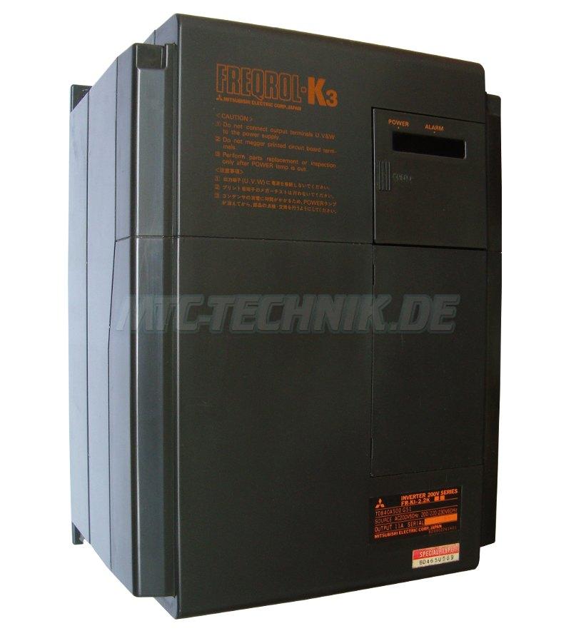 1 Mitsubishi Freqrol-k3 Fr-k3-2.2k Frequenzumrichter Shop