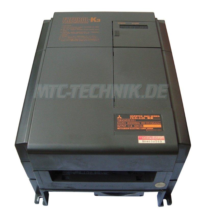 2 Mitsubishi Austausch Fr-k3-2.2k Freqrol Frequenzumrichter