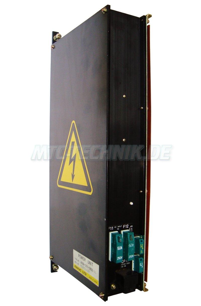 1 Fanuc Shop A16b-1211-0850-01 Power Supply