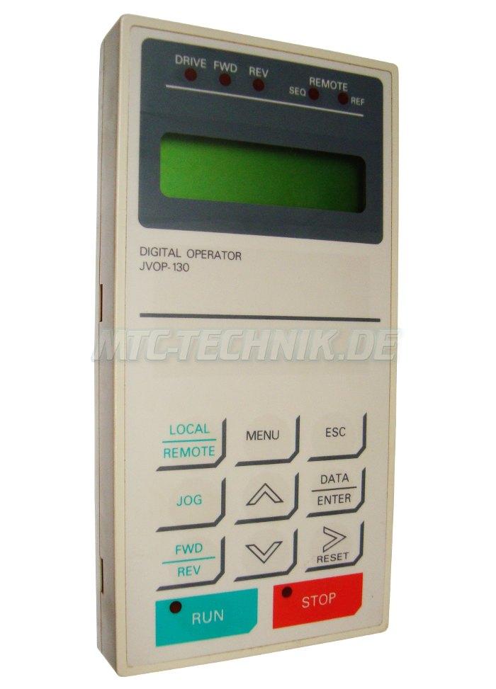 1 Yaskawa Digital Operator Jvop-130 Shop