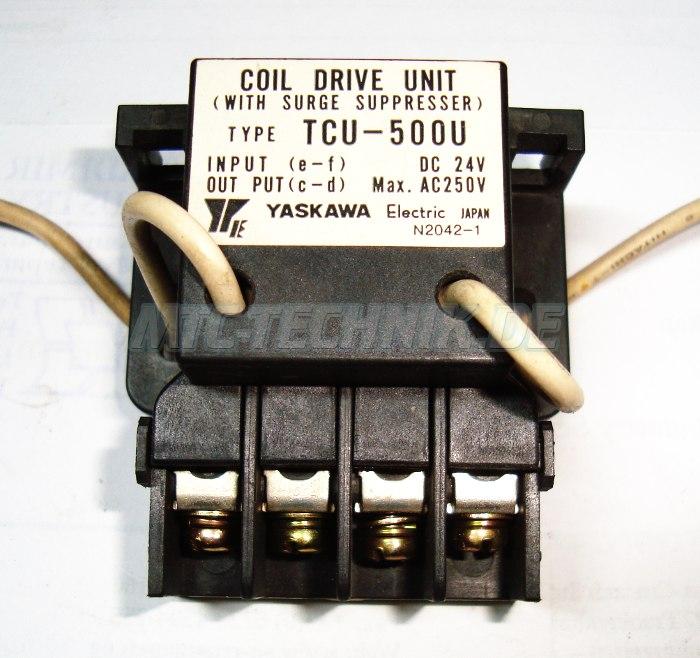 Shop Yaskawa Tcu-500u Coil Drive Unit