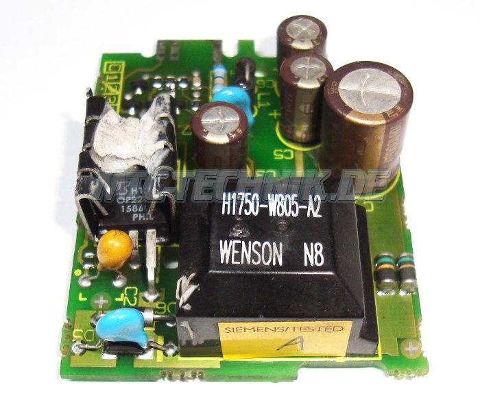 Siemens Netzteil-karte G85139-h1750-c805-c Shop