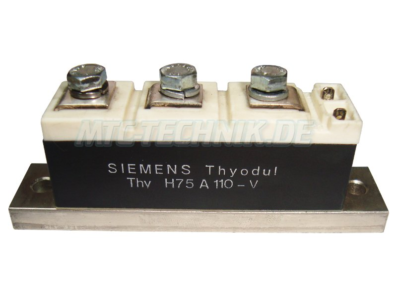Siemens Thyristor Module H75A110-V