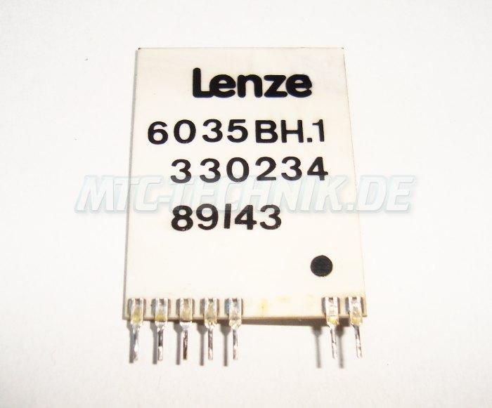 2 Typenschild 6035bh.1 Lenze