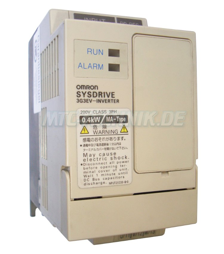 1 Omron Shop 3g3ev-a2004ma-cue Sysdrive Frequenzumrichter