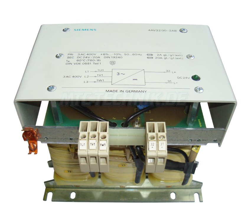 1 Siemens Netzteil 4av3200-2ab Shop