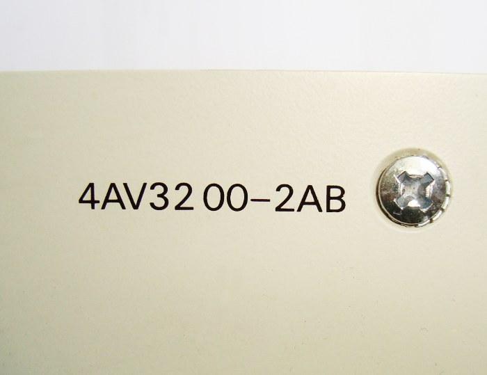 4 Typenschild 4av3200-2ab