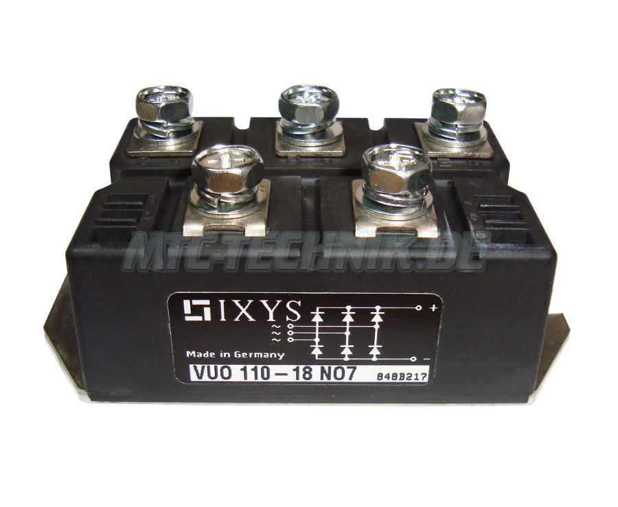 Ixys Dioden Module Vuo110-18no7 Bestellen
