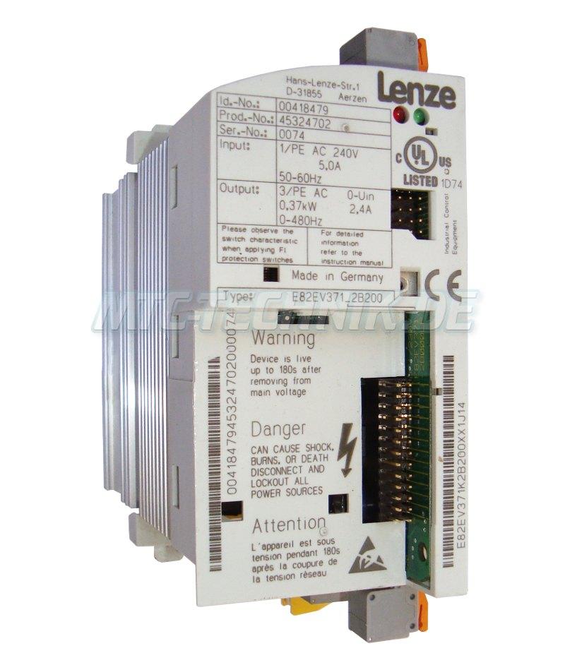 1 Online Shop Lenze E82ev371 2b200 Frequenzumrichter