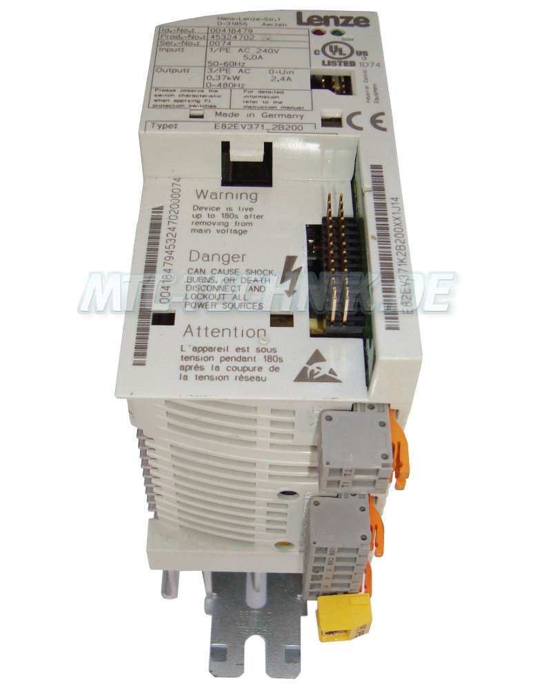 2 Reparatur E82ev371 2b200 Lenze Umrichter