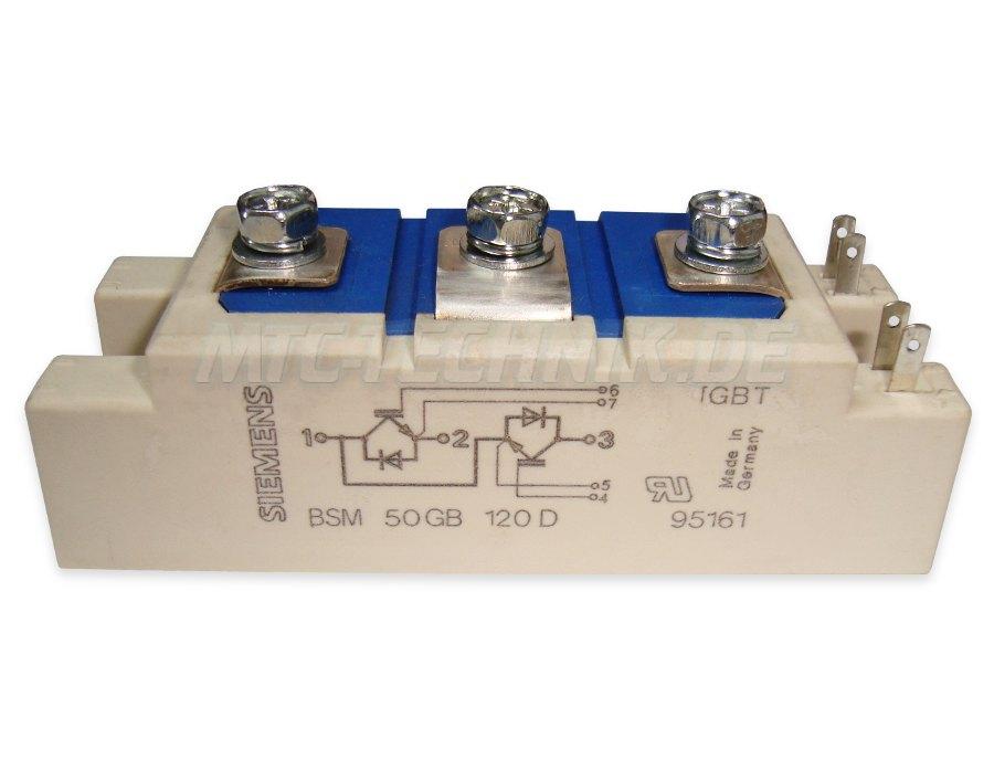 Siemens Bsm50gb120d Igbt Leistungsmodul Bestellen