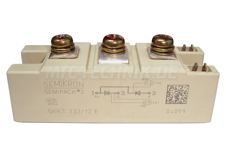 Online Shop Semikron Skkt132-12e Thyristor Module