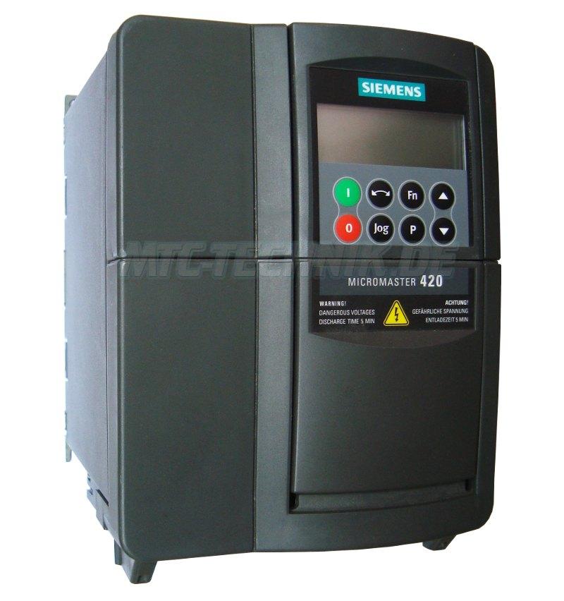 1 Siemens 6se6420-2ud23-0ba1 Micromaster Online Shop