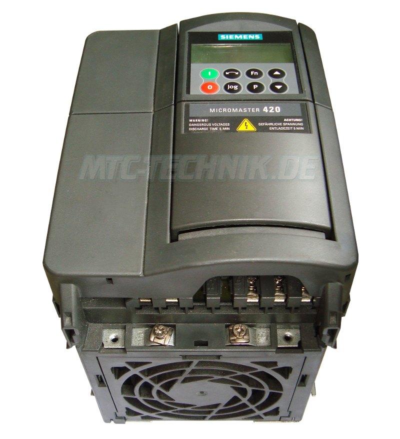 2 Austausch Siemens 6se6420-2ud23-0ba1 Frequenzumrichter