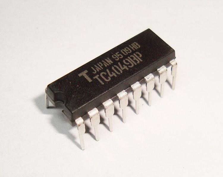 Toshiba Hex Buffer Tc4049bp