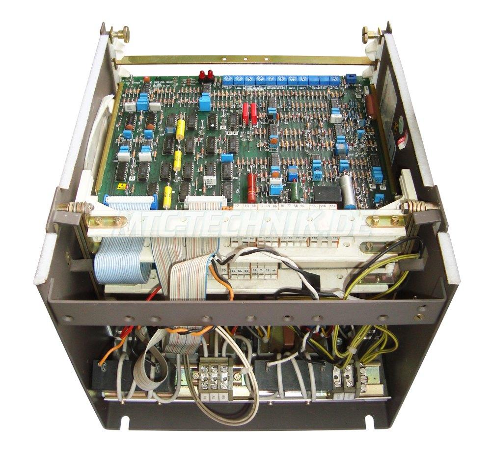 4 Siemens Gleichstromantrieb 6ra2620-6dv55-0 Bestellen