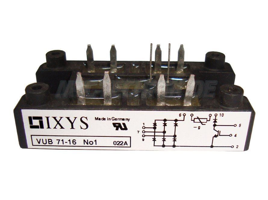 Ixys Online Shop Vub71-16no1 Dioden Module