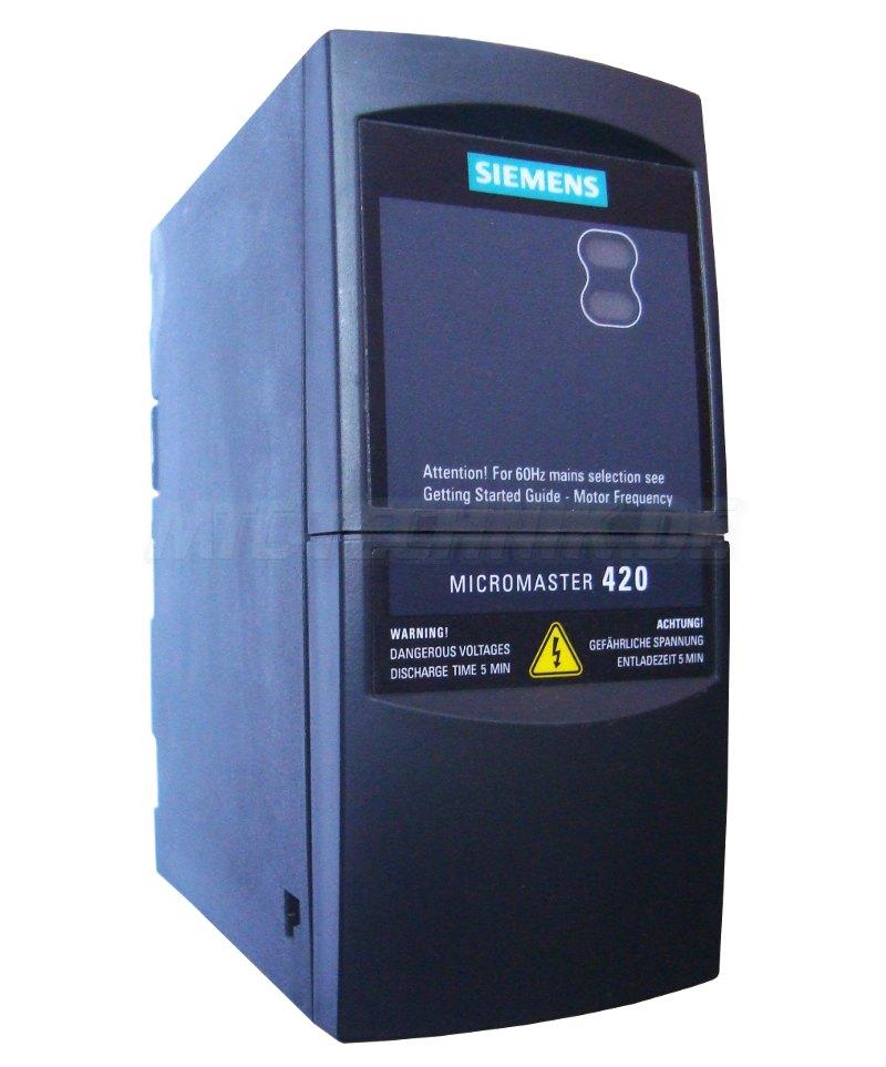 1 Siemens Frequenzumrichter 6se6420-2uc17-5aa1 Bestellen