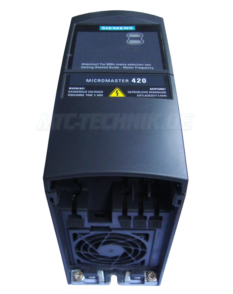 2 Micromaster 420 Siemens 6se6420-2uc17-5aa1 Shop