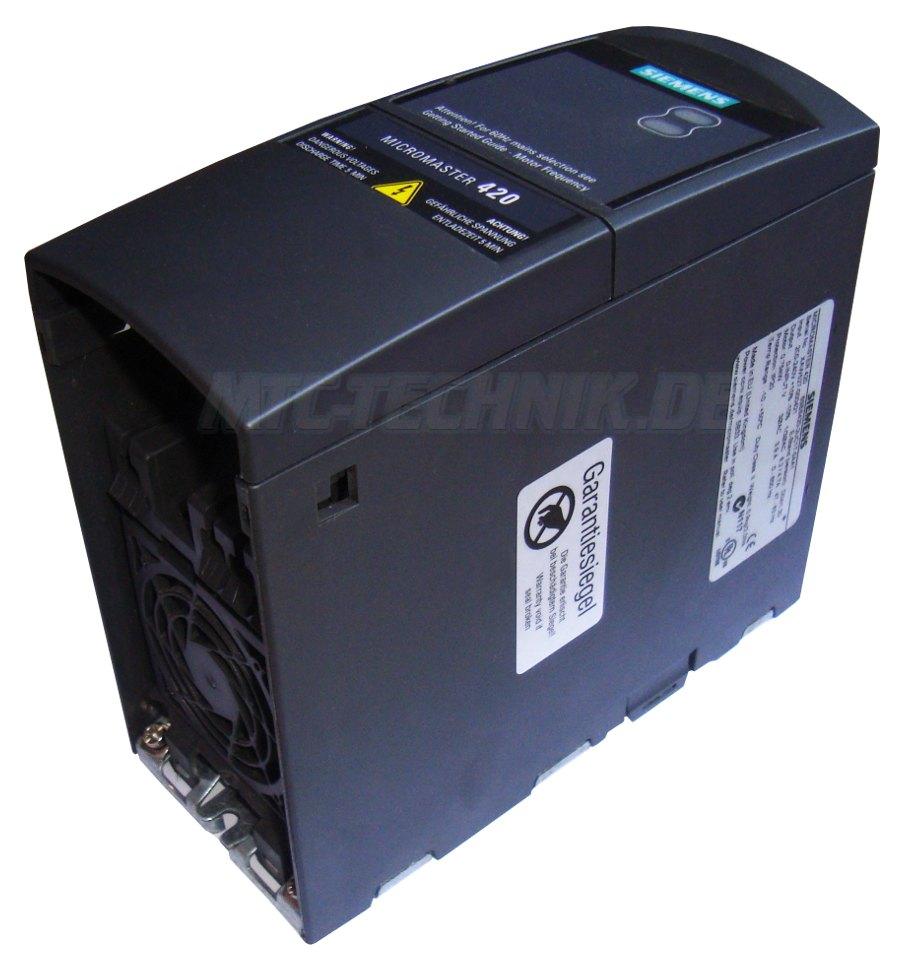3 Reparatur 6se6420-2uc17-5aa1 Oder Austausch Siemens