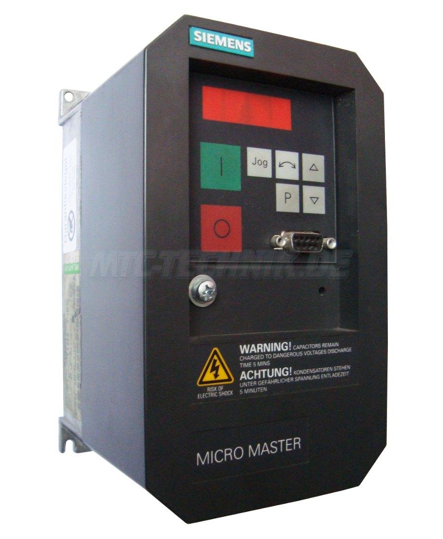 1 Siemens Frequenzumrichter 6se3112-8ca40 Shop