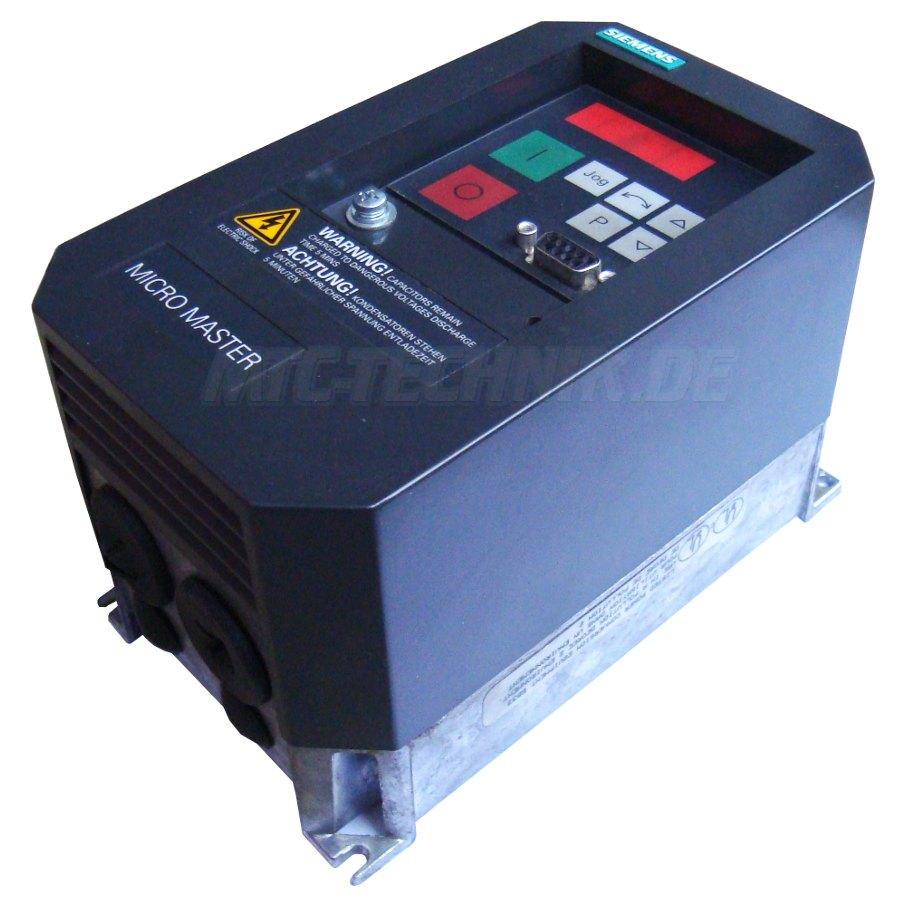 3 Online Shop 6se3112-8ca40 Micromaster Frequenzumrichter