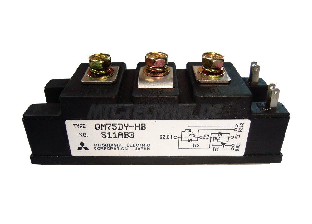 Mitsubishi Electric Transistor Module QM75DY-HB