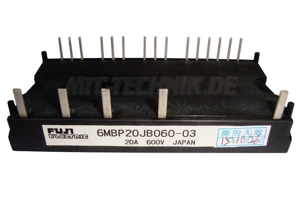 Fuji Electric Transistor Module 6MBP20JB060-03