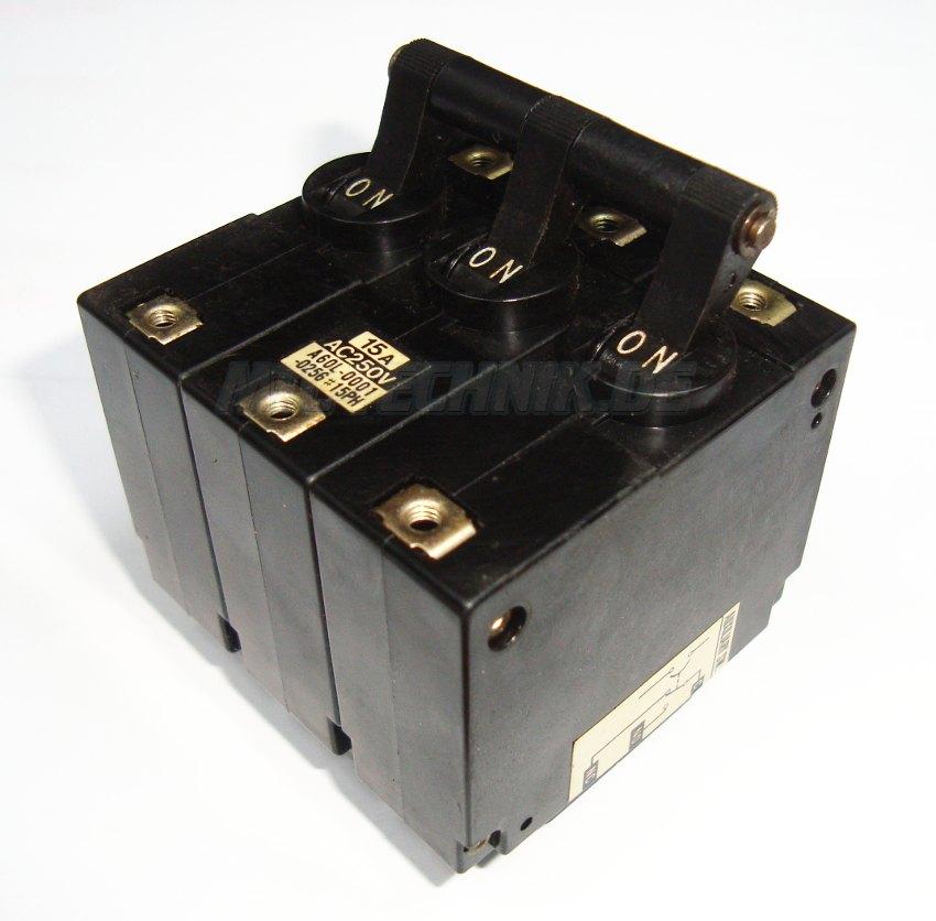 1 Circuit Protector Cp33-sf-15a Hitachi