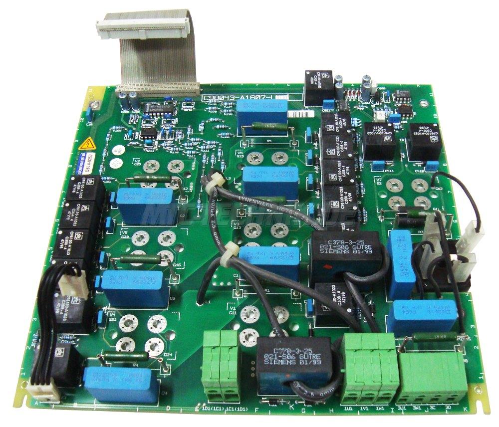 1 Siemens Shop C98043-a1607-l41-01 Simoreg Leistungskarte