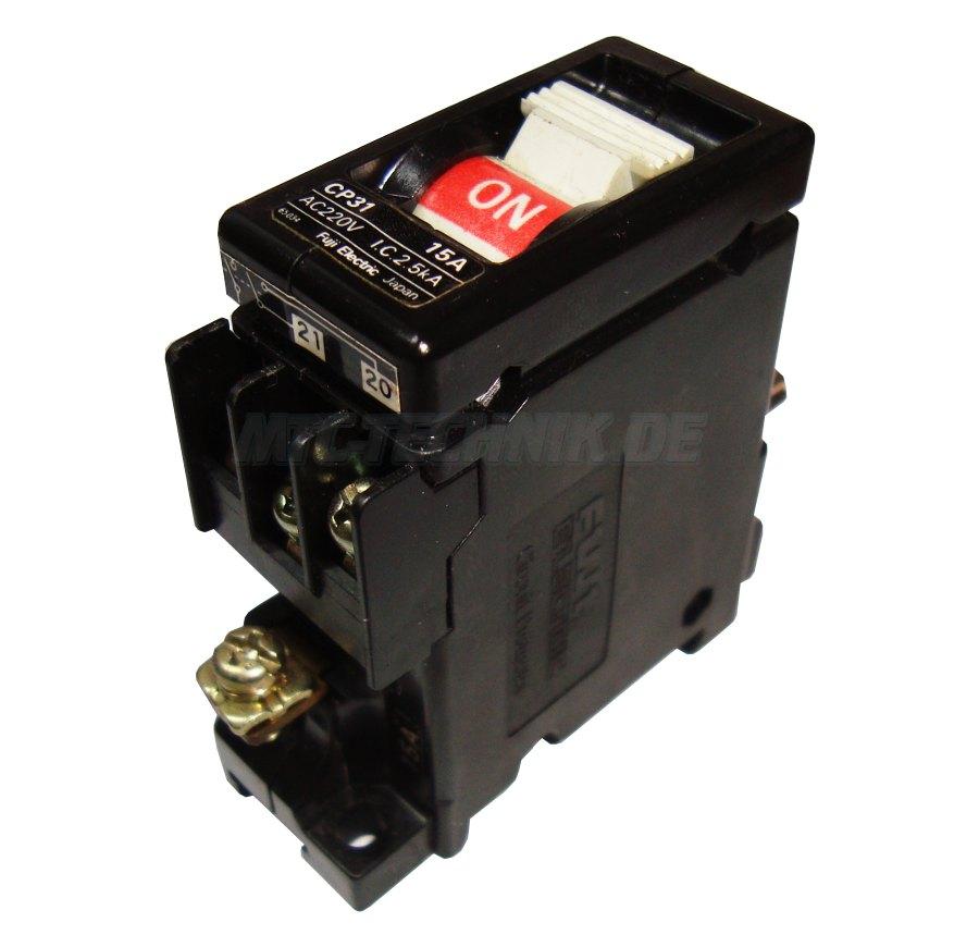 1 Fuji Cp31-15a Circuit Protector