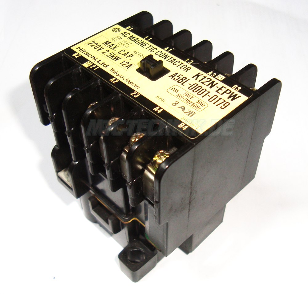 2 Ac Magnetic Contactor K12n-epw Hitachi Online Shop