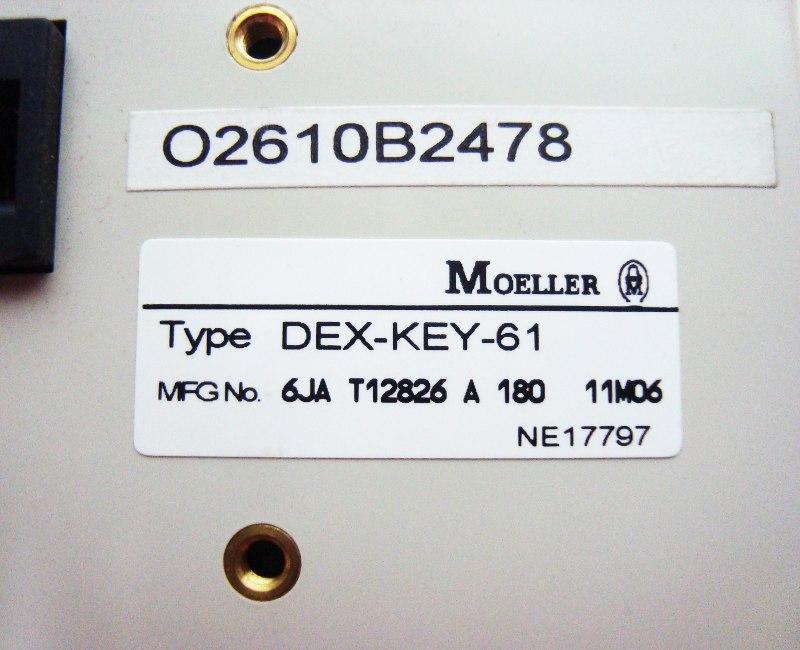 3 Typenschild Dex-key-61