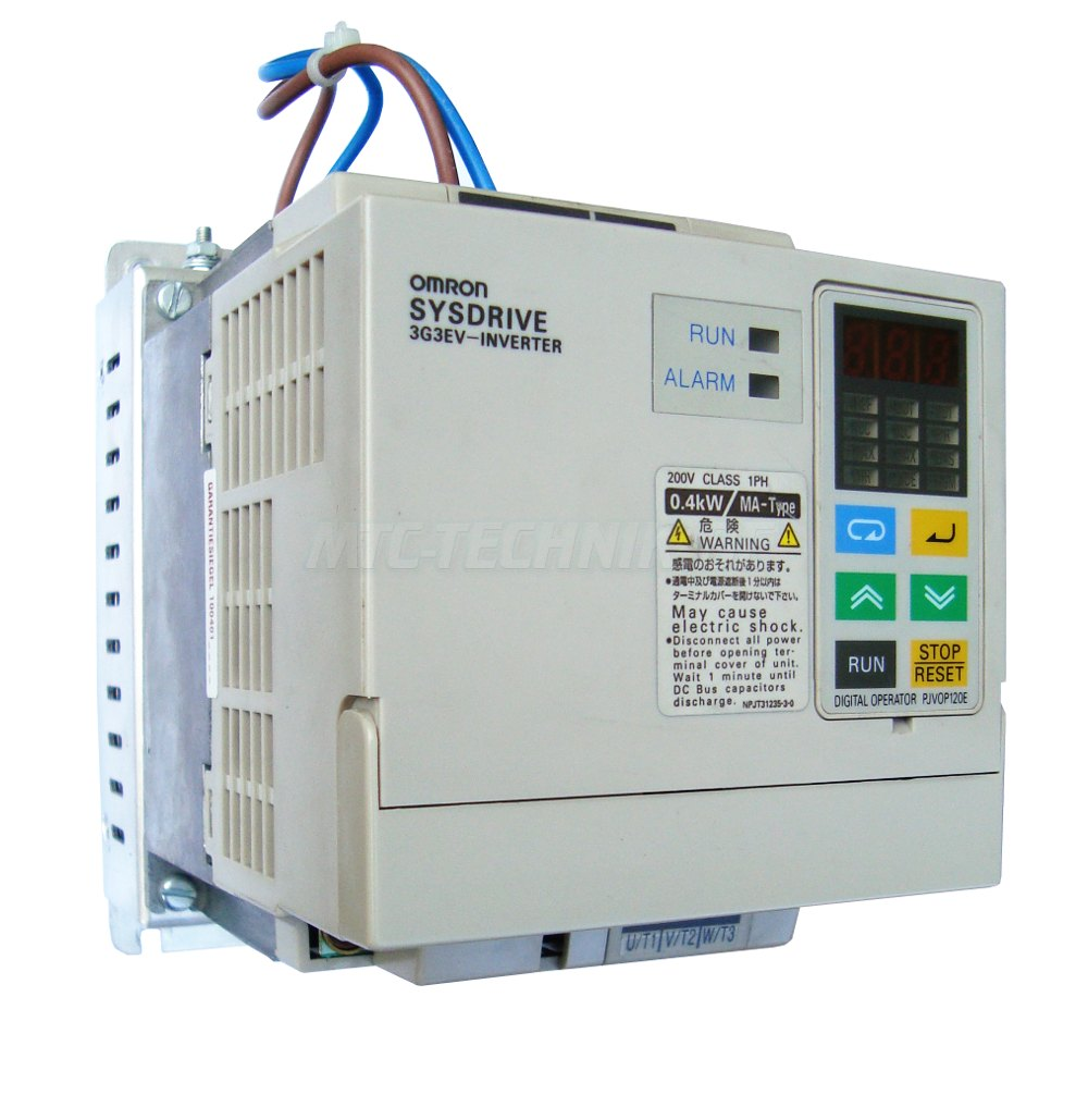 1 Omron Frequenzumrichter 3g3ev-ab004ma-cues1 Sysdrive