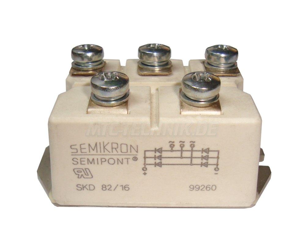 1 Dioden Modul Skd82-16 Semikron