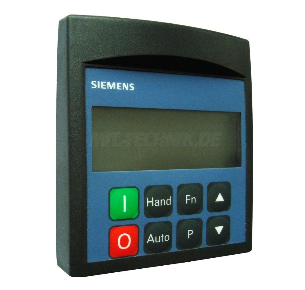 1 Siemens 1795l810a Bedienfeld