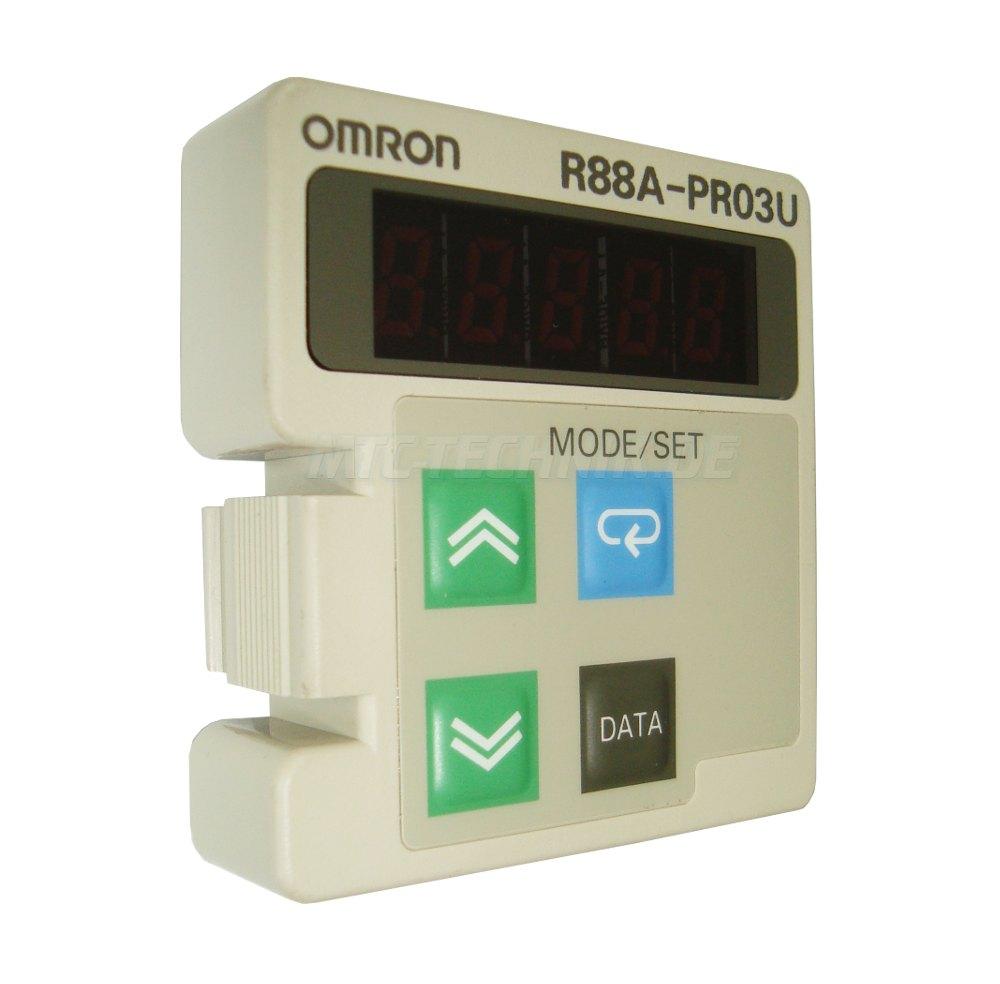 1 Omron R88a-pr03u Parameter Unit