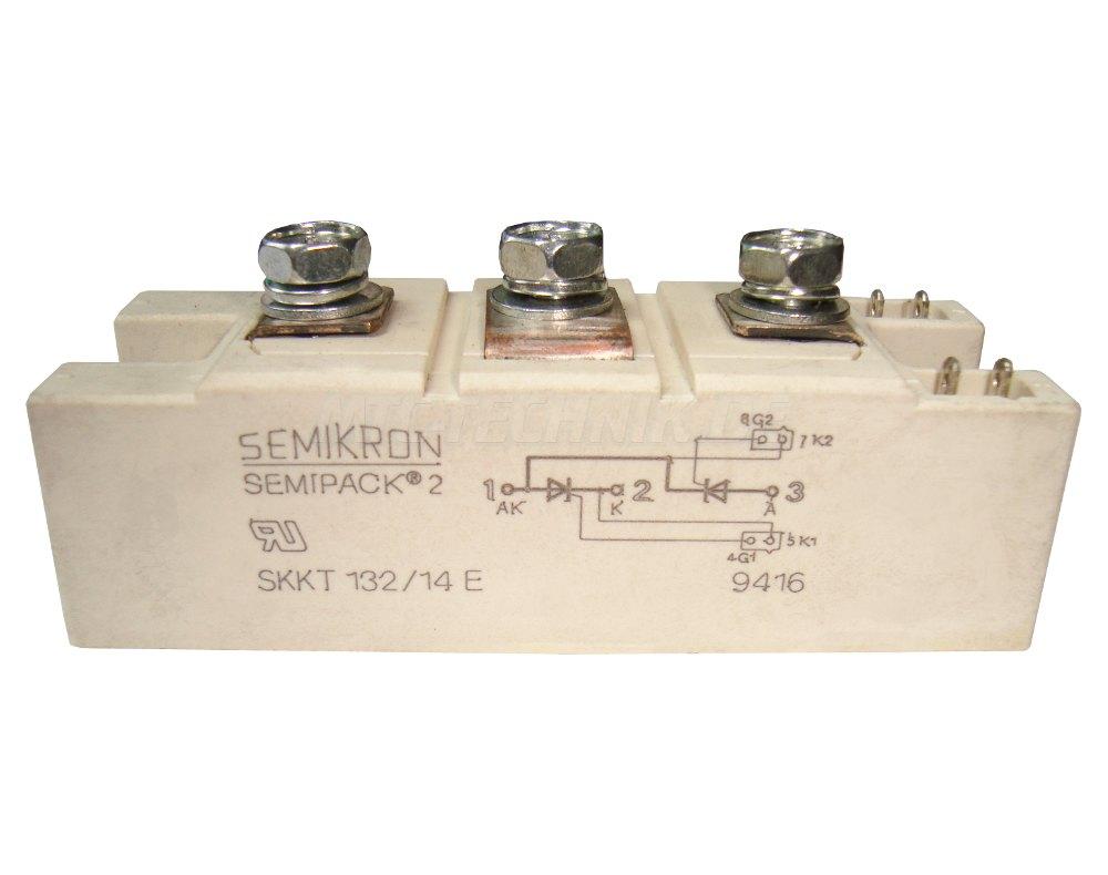 Semikron Thyristor Module SKKT132/14E