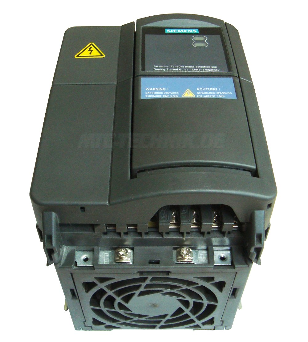 2 Austausch 6se6440-2ad24-0ba1 Siemens Frequenzumrichter