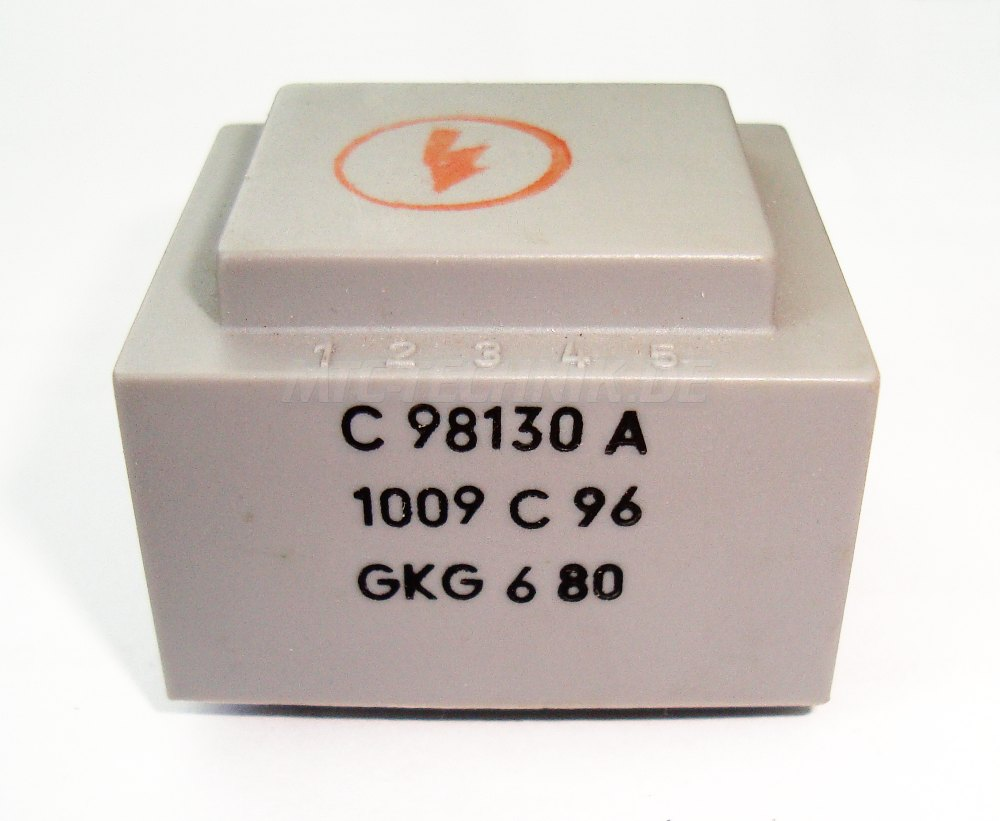 1 Siemens Transformator C98130-a1009-c96 Bestellen