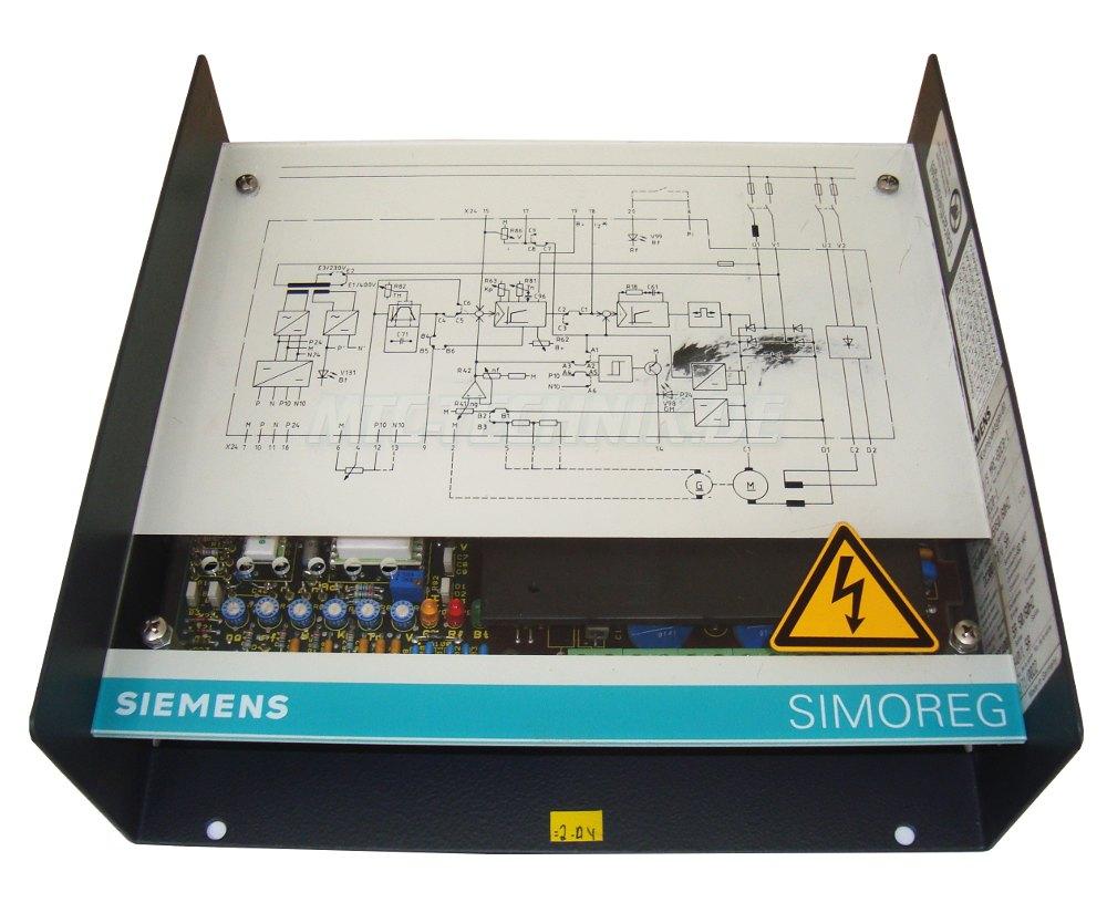 1 Siemens Gleichstromantrieb 6ra2203-8dd20-1 Bestellen