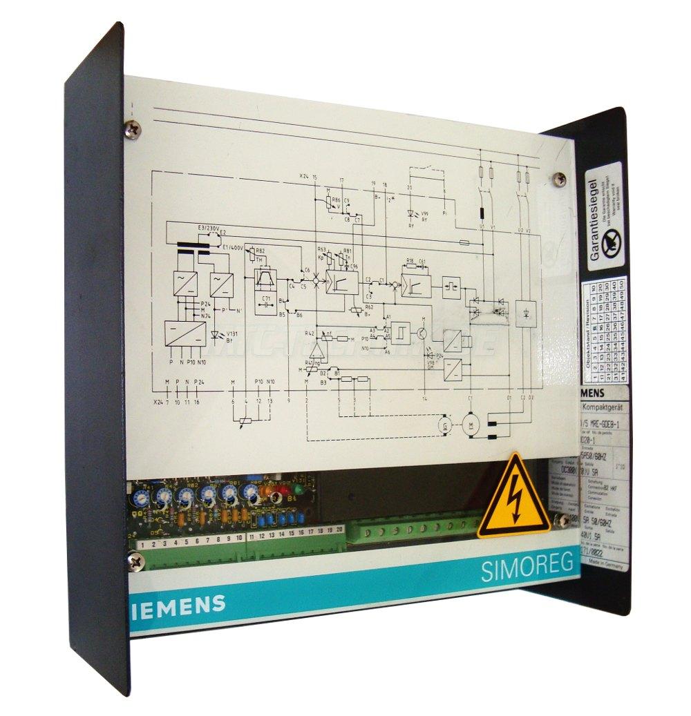 2 Simoreg K 6ra2203-8dd20-1 Reparatur Oder Austausch