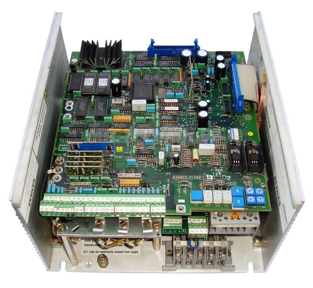 1 Siemens 6ra2718-6dv55-0 Gleichstromrichter Shop