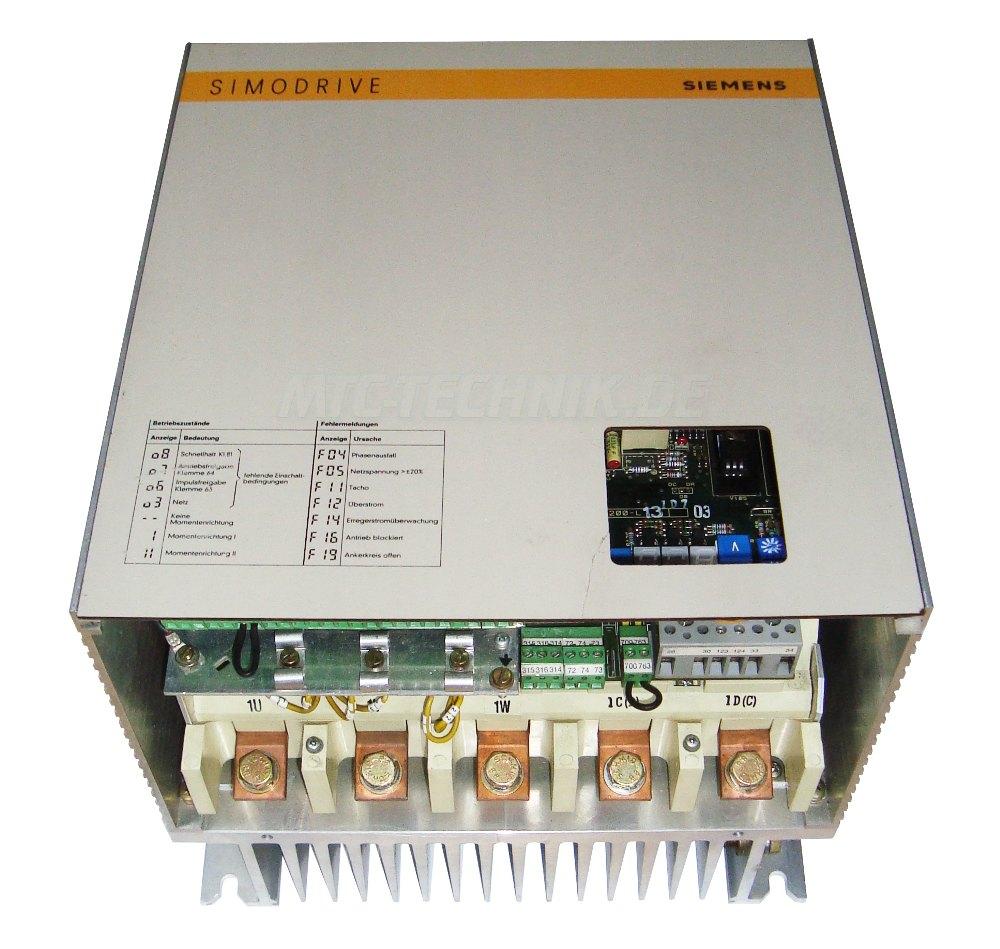1 Online Shop 6ra2725-6dv55-0 Siemens Simodrive