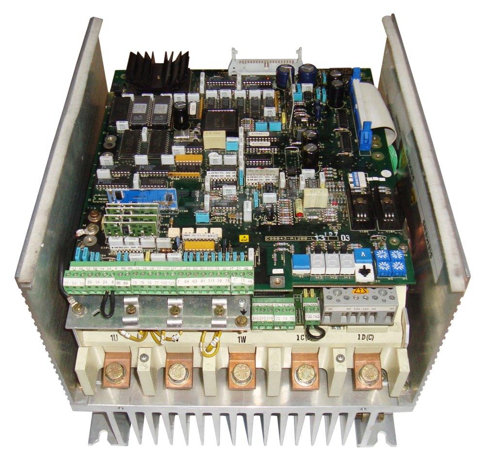 2 Gleichstromregler 6ra2725-6dv55-0 Siemens Austausch