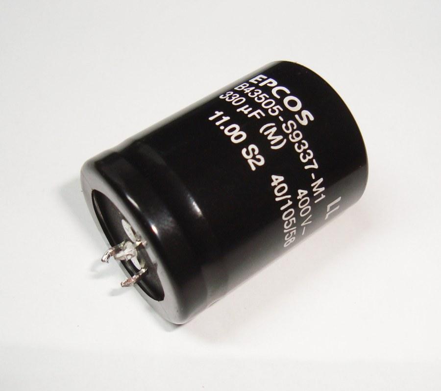 1 Epcos Kondensator B43505-s9337-m1 Shop